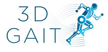 3D Gait logo